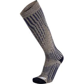 UYN Shiny Cashmere Ski Socks Men celebrity gold